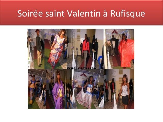 Soirée saint Valentin à Rufisque