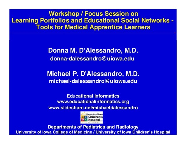 Workshop / Focus Session on