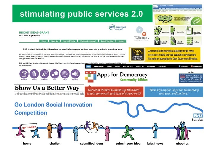 Gov 2.0 for a new kind of public services