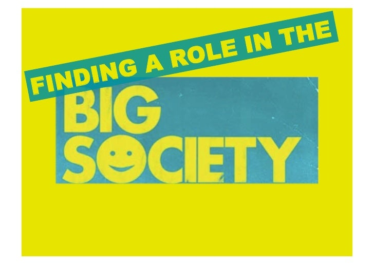 how BIG is your society?