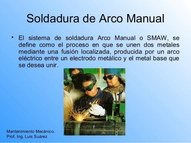 Soladura al-arco Slide 2