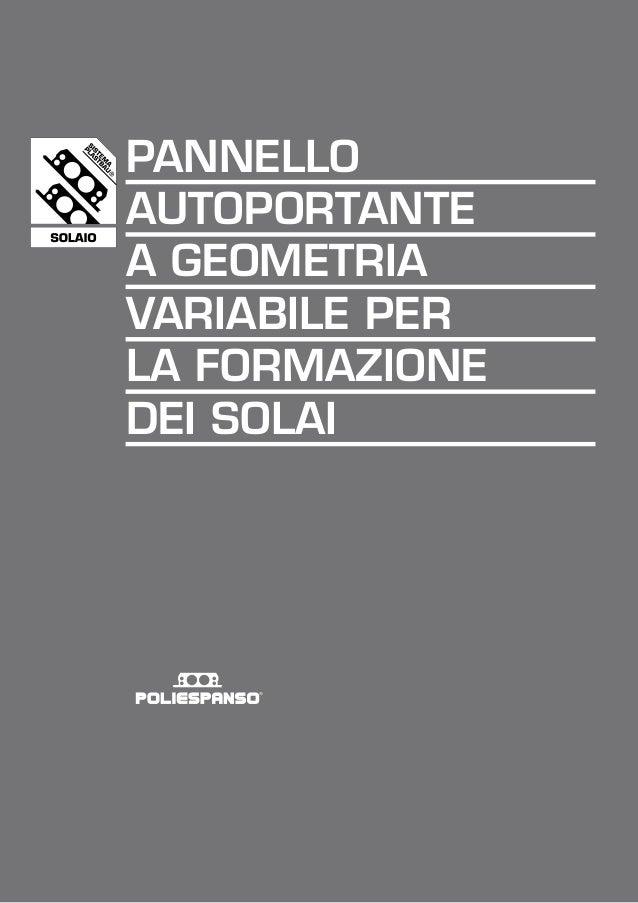 Solaio plastbau scheda tecnica poliespanso srl for Helios termocamini scheda tecnica