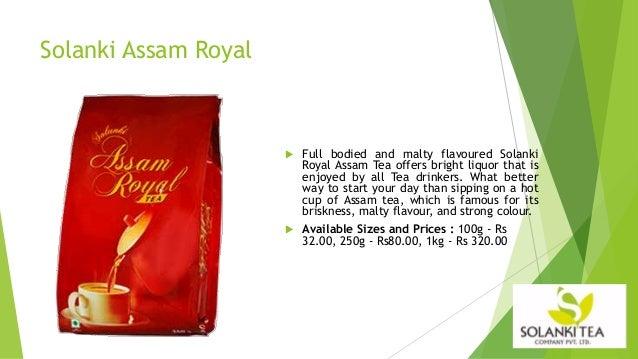 Solanki Tea Company Profile