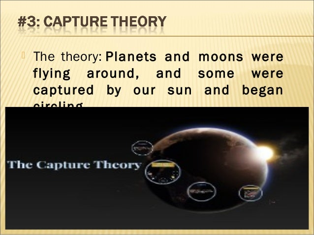 the theories on the origins of the solar system Presentation on theme: the origin of the solar system— presentation transcript :  10 extrasolar planets modern theory of planet formation is evolutionary.