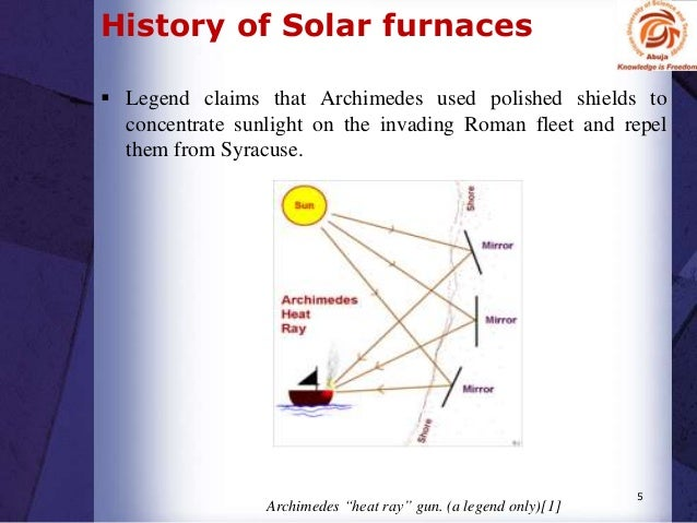 solar furnaces furnace ac diagram 5 history of solar furnaces