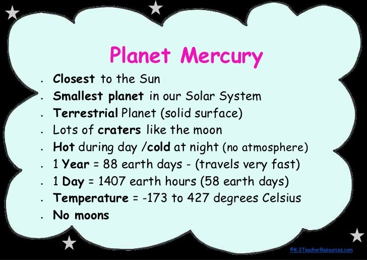 Solar System Facts Slideshow