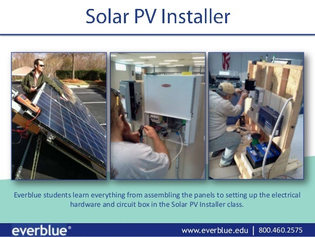 Everblue Solar PV Installer Training