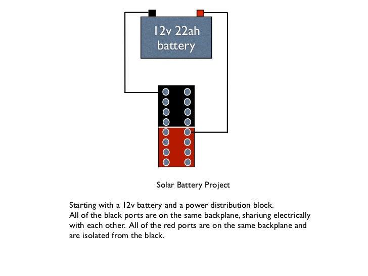 solar box wiring diagram rh slideshare net 12v leisure battery wiring diagram club car 12v battery wiring diagram