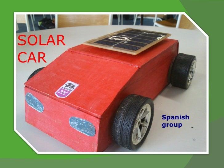 SOLARCAR        Spanish        group