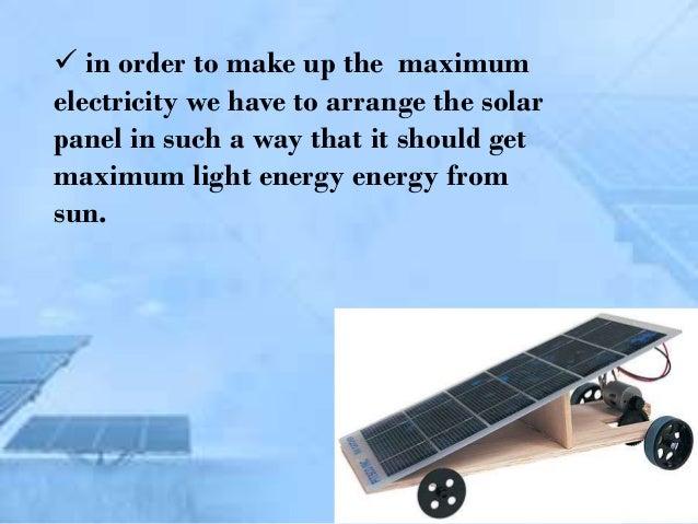 Solar Car Ppt