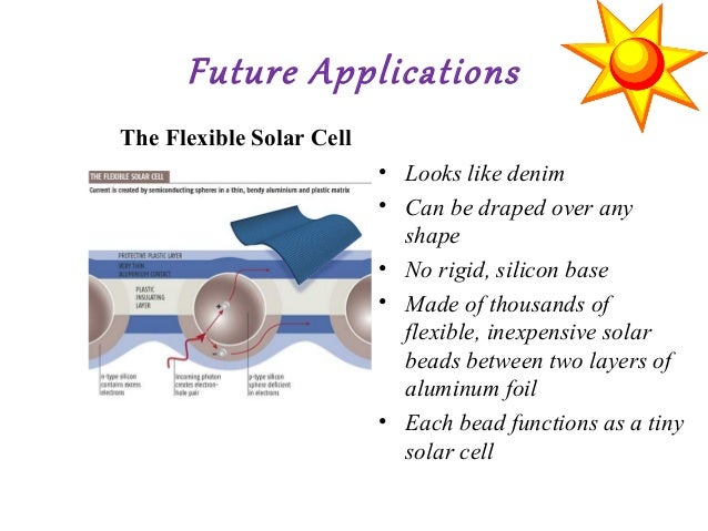 Solar Cells And Its Applications