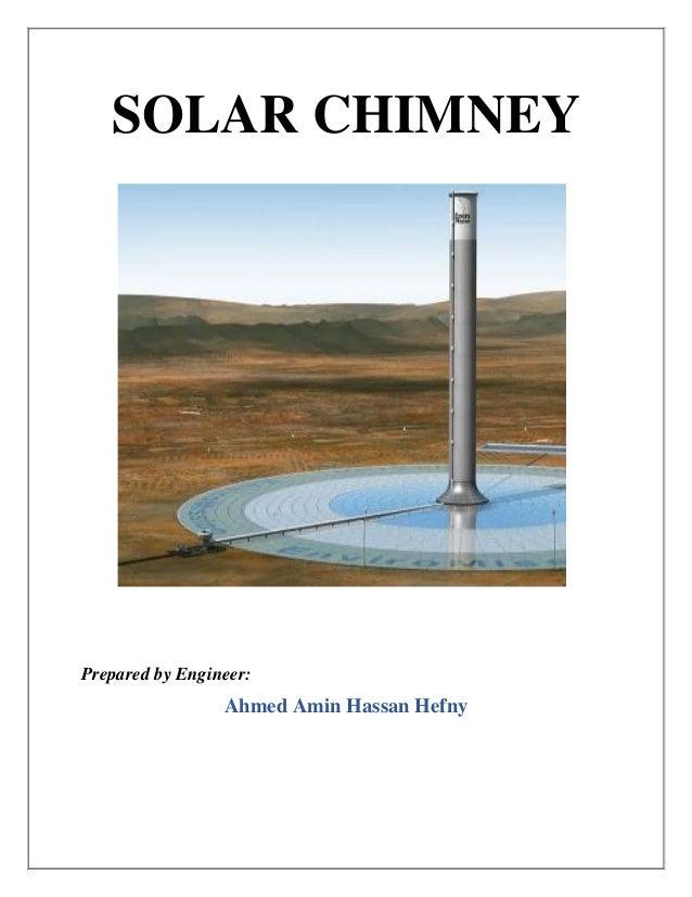 solar chimney power plant seminar report pdf