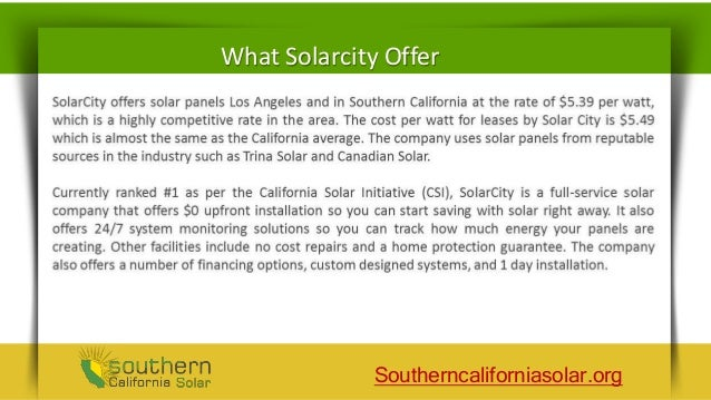 Solarcity Solar Panel Reviews - Go Green To Save Earth!