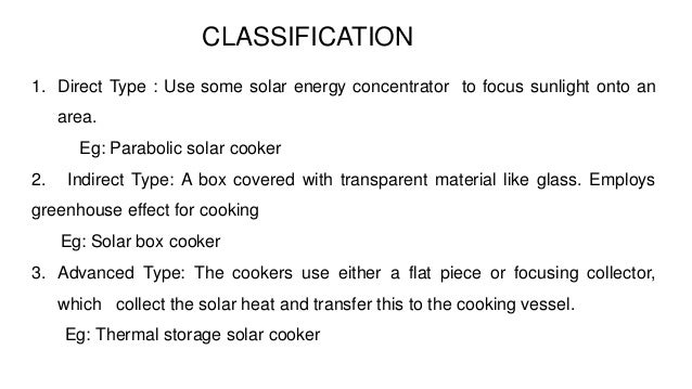 working principle of solar cooker