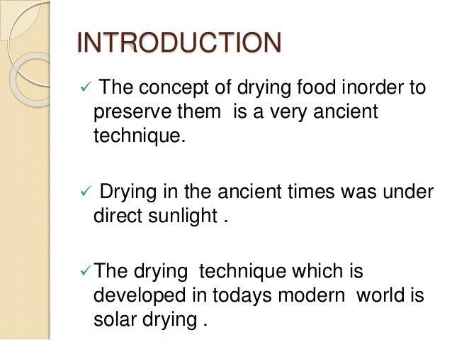 Solar dryer Slide 2