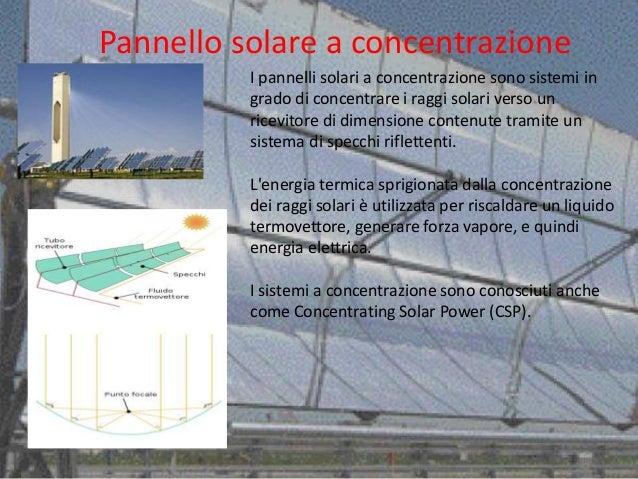 Pannello Solare A Liquido Refrigerante : Solare