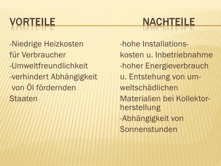 """Vorteile Solarenergie planspiel energie"""" in neubrandenburg: abschlussbericht / solarenergie"""