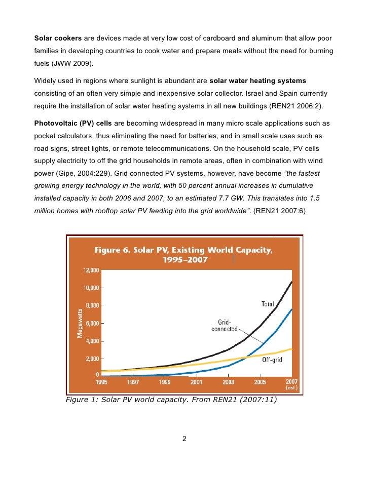 Solar Power: Solar Heating, Photovoltaics, and Solar Thermal Power Slide 2