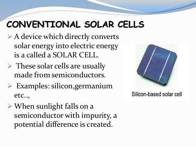 Solar Energy Harvesting And Its Applications