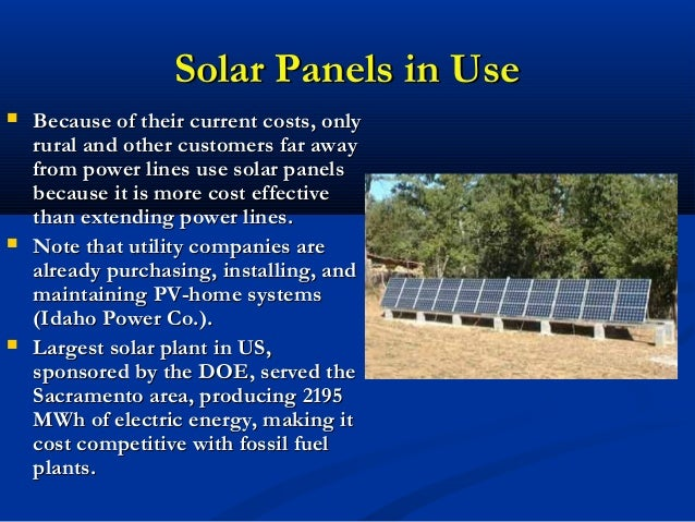 solar energy and its many uses Solar energy, solar power derived from the sun through the use of solar panels, is just one of the newest initiatives the going green movement has presented to us, in an effort to build.