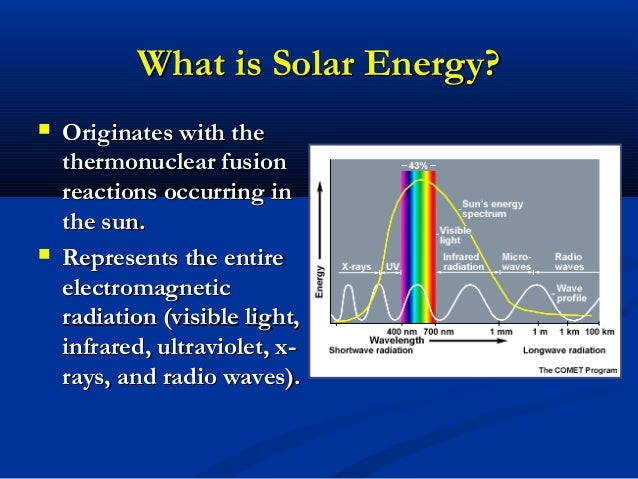 Solar Energy The Ultimate Renewable Resource