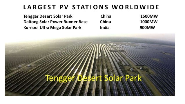 Solar Energy And Its Future