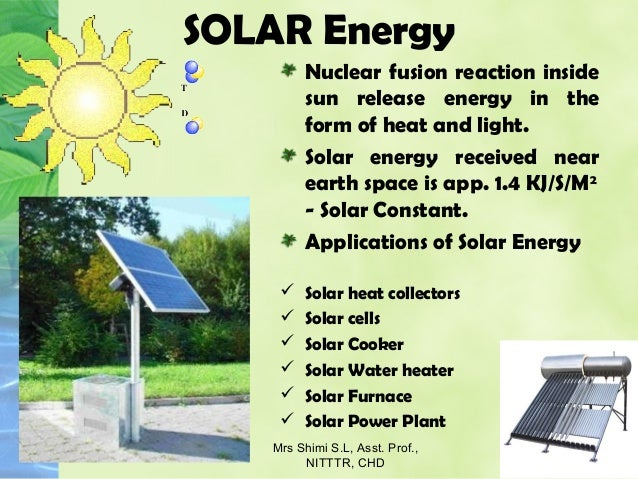 Solar energy application for electric power generation for Uses of solar energy for kids