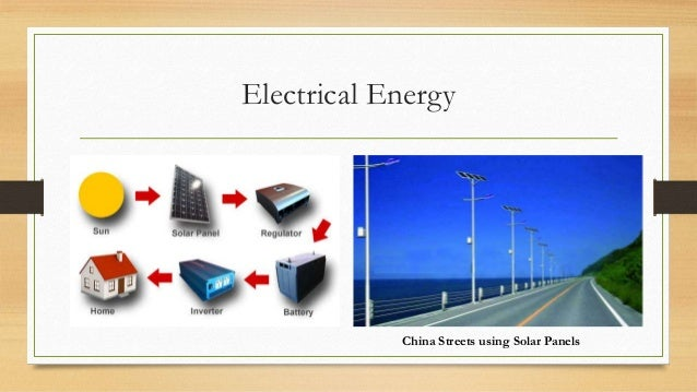 Conservation Of Solar Energy