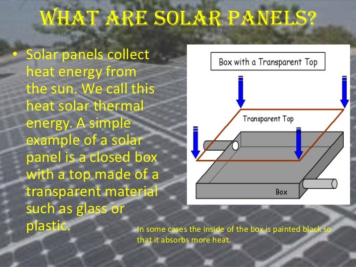 Project on solar energy electricity 7 what are solar panels ccuart Image collections