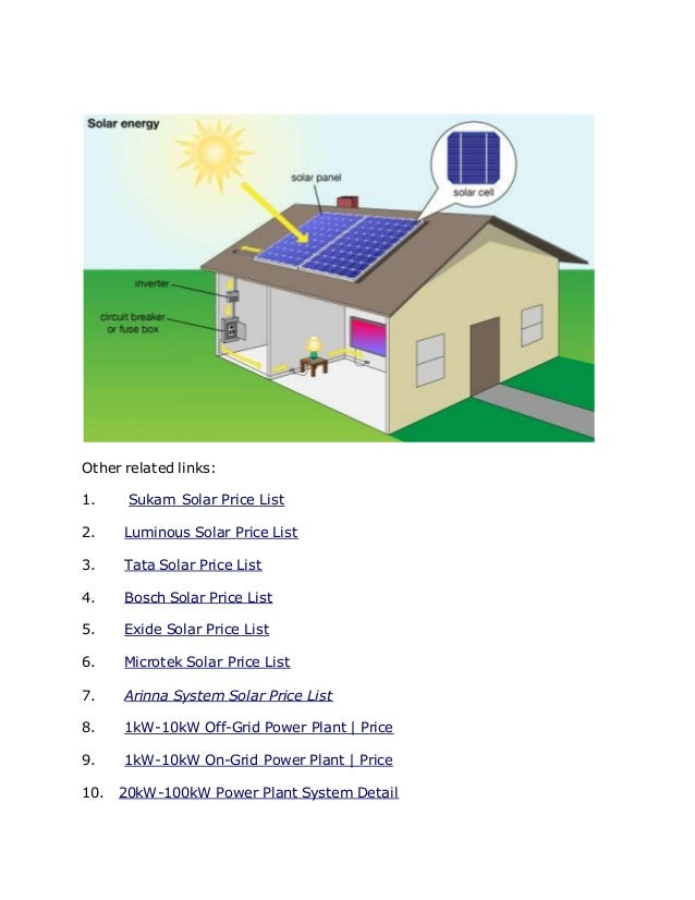 Solar Panel System And Power Plant Company In Gurgaon