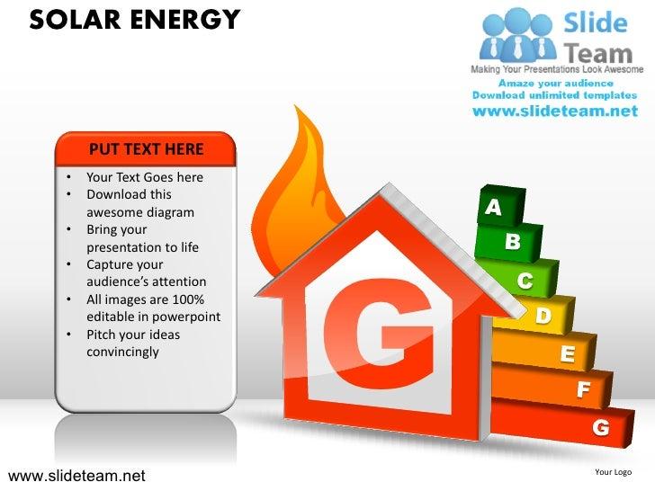 Solar energy powerpoint ppt templates solar energy toneelgroepblik Choice Image