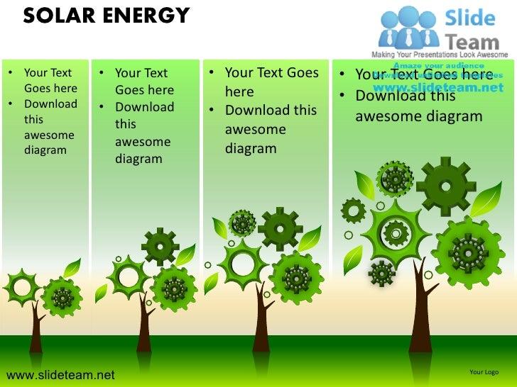Solar Energy Powerpoint Ppt Templates