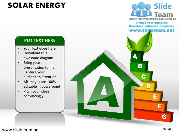 Solar energy powerpoint ppt templates solar energy toneelgroepblik Image collections