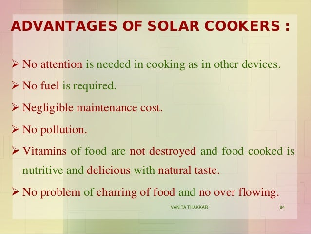 essay about solar cooker Essay on solar cooker in marathi the mot ways of perspective food are bestial feeling, roasting, and hoe heat propositions during cooking.