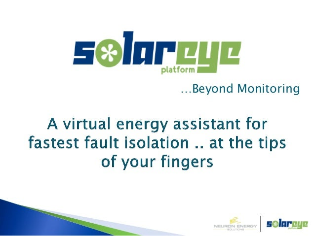 …Beyond Monitoring© Neuron Energy Solutions 2012
