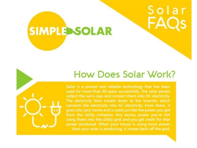 25 Questions About Solar Panels