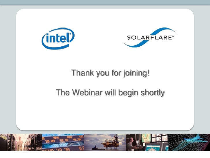 Thank you for joining!The Webinar will begin shortly