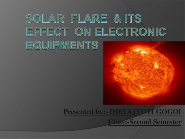 solar storm effects on electronics - photo #6