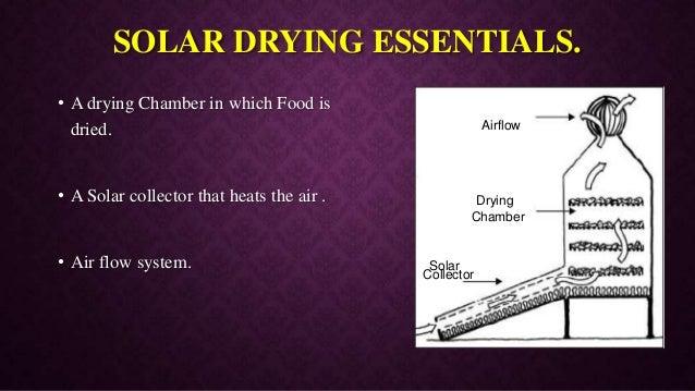 Solar Food Drying