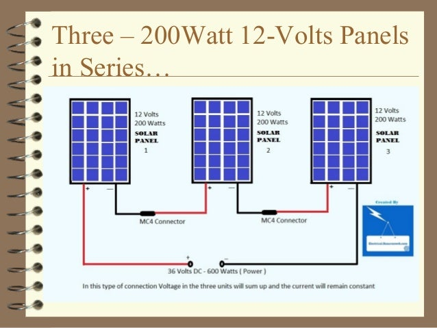 solar for the home installation and maintenance 20161 rh slideshare net 250 Watt Solar Panel Kits 12 Volt DC Wiring Diagram