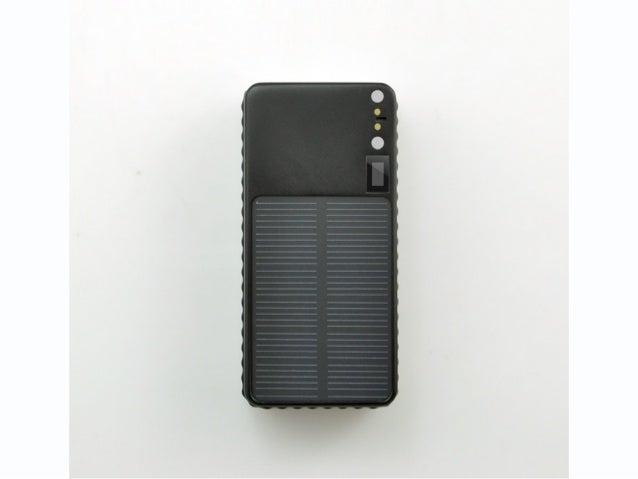Solar GPS Tracker TK101s
