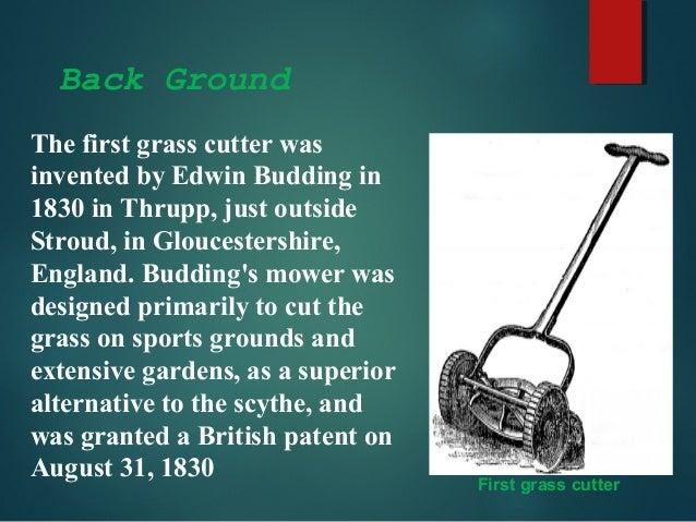 Solar Grass Cutter