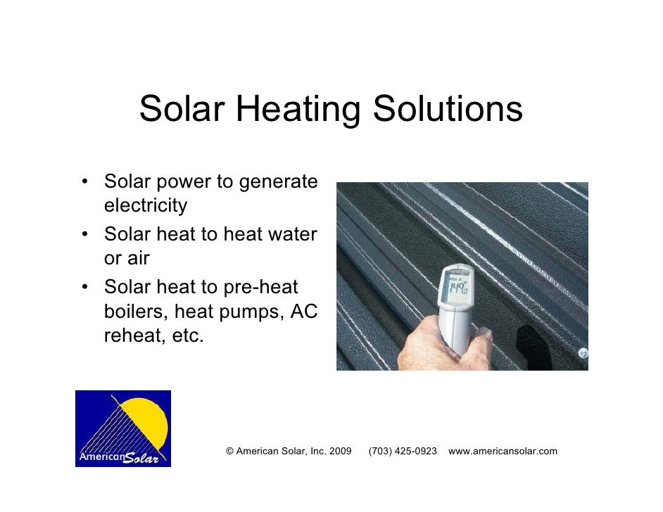 Solar Thermal Heating For Schools