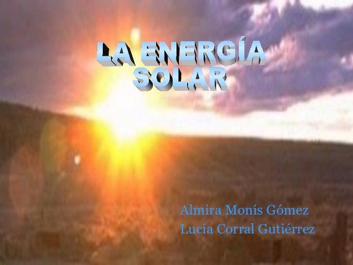 Almira Monís GómezLucía Corral Gutiérrez