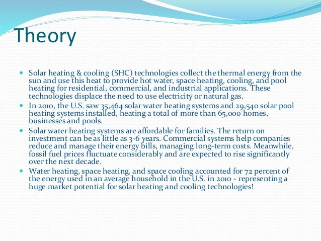 Solar Industrial Heating System Ppt
