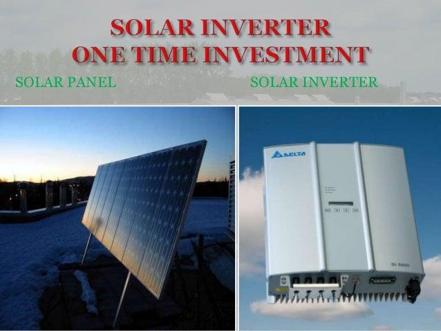 Solar inverter Slide 2