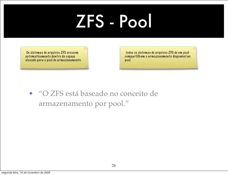 Solaris for Zfs pool design