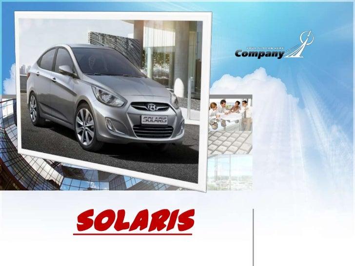 SOLARIS<br />