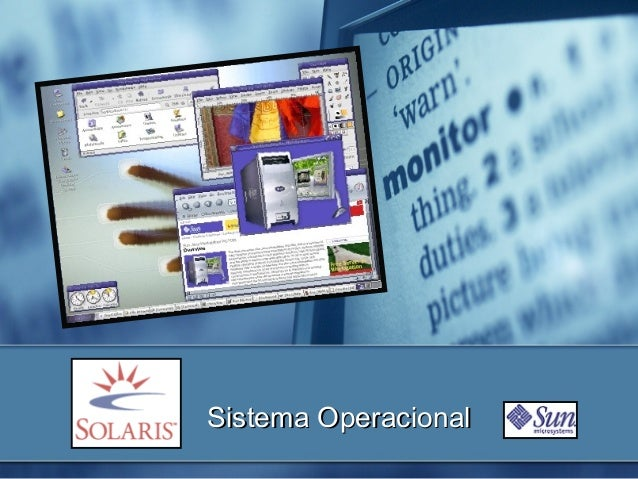 Sistema OperacionalSistema Operacional