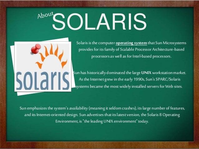 SOLARIS OS ARCHITECTURE PDF DOWNLOAD